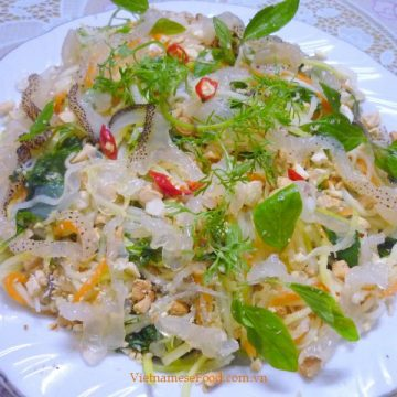 Jellyfish Salad Recipe (Gỏi Sứa)